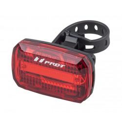 Světlo zadní PRO-T Plus blikací COB diody na 2xAAA