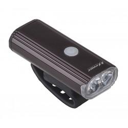 Přední světlo PRO-T Plus 750 Lumen 2x10W LED dioda nabíjecí přes USB kabel