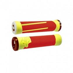 Gripy ODI AG-2 Signature V2.1 bonus pack - oranžová/žlutá