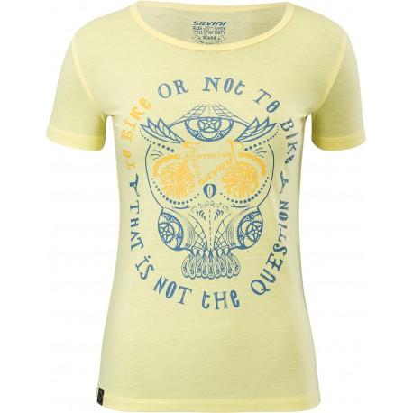 Dámské funkční triko/dres SILVINI Pelori yellow-blue vel. XS