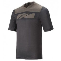 Dres ALPINESTARS DROP 4.0 S/S JERSEY kr.rukáv black dark shadow vel. XL