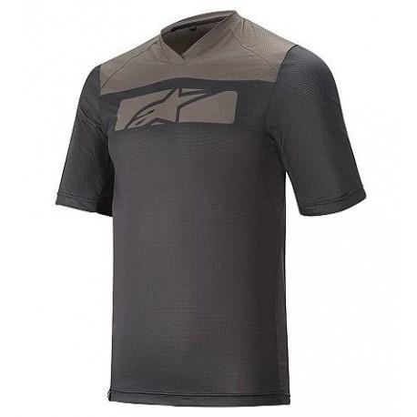 Dres ALPINESTARS DROP 4.0 S/S JERSEY kr.rukáv black dark shadow vel. XL