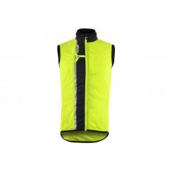 Pánská vesta SILVINI Garcia neon-black vel. XL