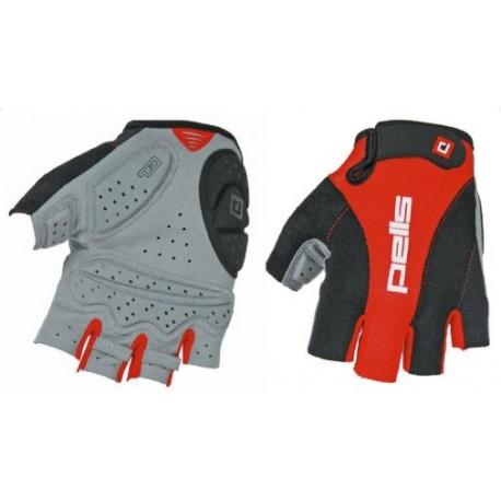 Rukavice PROFI GEL - červená/černá - vel. S