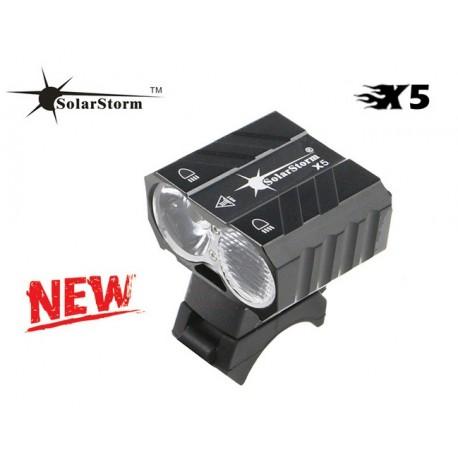 SolarStorm X5 LED cyklosvítilna přední
