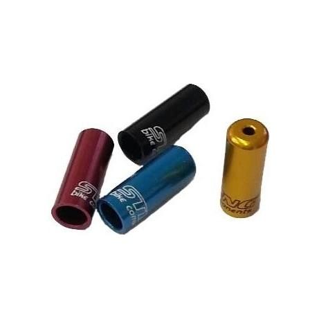 Koncovka bowdenu 4mm CNC červená