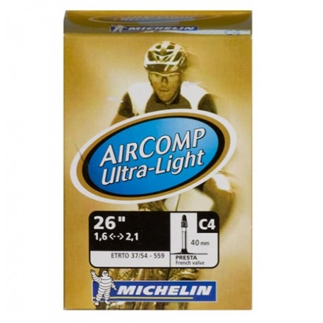 Duše MICHELIN C4 Aircomp Ultralight 26 FV