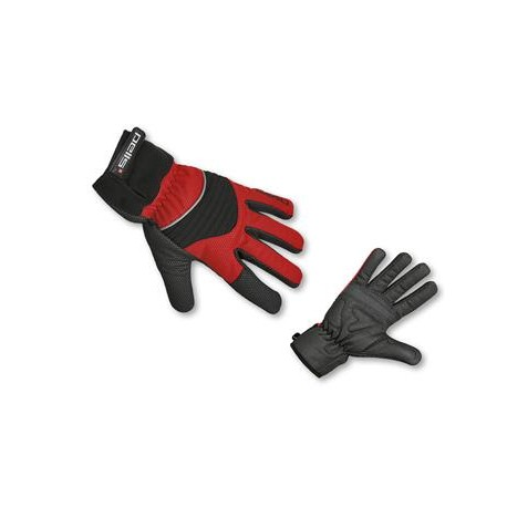 Rukavice X-WINTER - černá/červená vel.XL